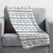Jennifer Denty Anchor Small Throw Blanket