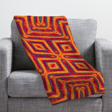 Wagner Campelo Sanchezia X Throw Blanket