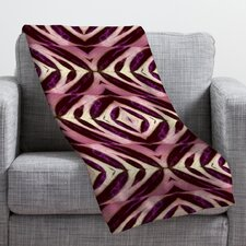 Wagner Campelo Calathea Throw Blanket