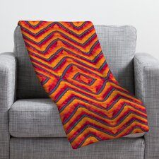 Wagner Campelo Sanchezia 1 Throw Blanket