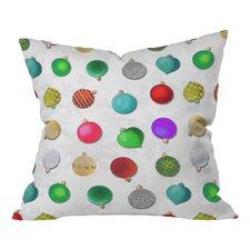 Madart Inc Multi Ornaments Throw Pillow