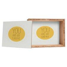 Allyson Johnson You Really Are My Sunshine Storage Box