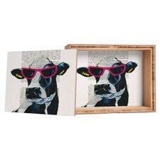 Coco de Paris Jetset Cow Storage Box