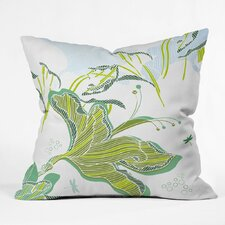 Sabine Reinhart Lake Modern Polyester Throw Pillow