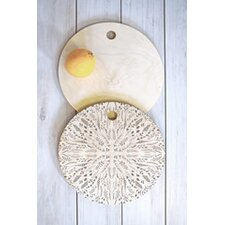 Iveta Abolina Maze Round Cutting Board