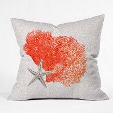 Hadley Hutton Coral Sea Throw Pillow