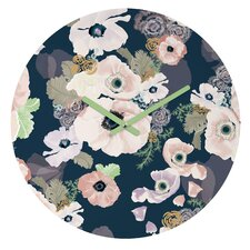 "12"" Khristian A Howell Une Femme Round Clock"