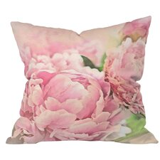 Lisa Argyropoulos Peonies Throw Pillow