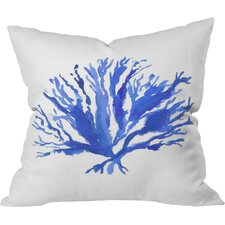 Sea Coral by Laura Trevey Indoor/Outdoor Throw Pillow