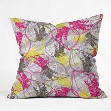 Rachael Taylor Organic Retro Leaves Throw Pillow