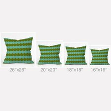 Holli Zollinger Waves of Color Outdoor Throw Pillow