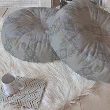 Lara Kulpa Ornamental Round Floor Pillow