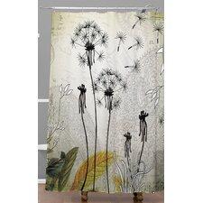 Iveta Abolina Little Dandelion Shower Curtain
