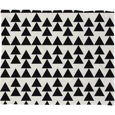 Holli Zollinger Triangles Fleece Throw Blanket