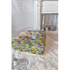 Bianca Green Floor Pillow