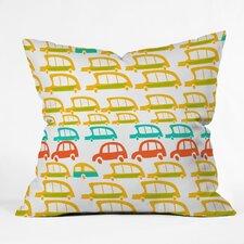 Mummysam Cars Throw Pillow