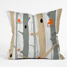 Mummysam Forest of Chairs Throw Pillow
