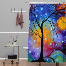 Madart Inc Winter Sparkle Shower Curtain
