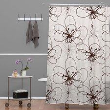 Rachael Taylor Tonal Floral Shower Curtain