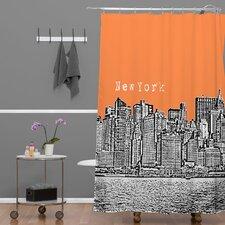 Bird Ave New York Shower Curtain