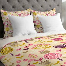 Wendy Kendall Retro Orchard Duvet Cover
