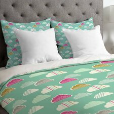 Wendy Kendall Petite Clouds Duvet Cover