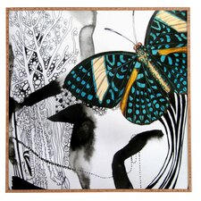 Ink Black Butterfly by Deb Haugen Framed Graphic Art