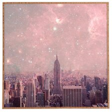 Stardust Covering New York by Bianca Green Framed Photographic Print