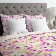 Joy Laforme Sun Faded Floral Duvet Cover