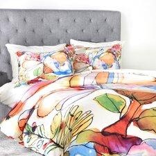 CayenaBlanca Blossom Pastel Duvet Cover