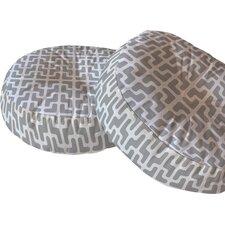 Hadley Hutton Lattice Jags Round Floor Pillow