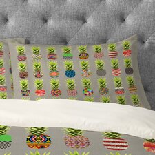 Bianca Green Pineapple Party Pillowcase