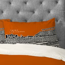 Bird Ave Texas Longhorns Pillowcase