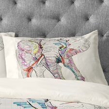 Casey Rogers Elephant 1 Pillowcase