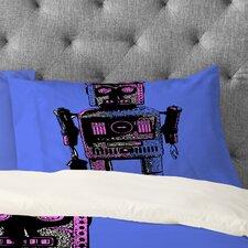 Romi Vega Lantern Robot Pillowcase