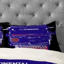 Romi Vega Continental Typewriter Pillowcase