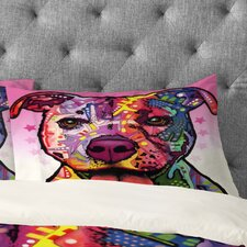 Dean Russo Cherish The Pitbull Pillowcase