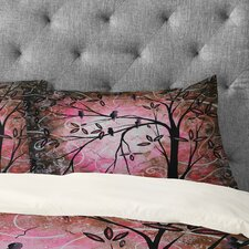 Madart Inc Cherry Blossoms Pillowcase