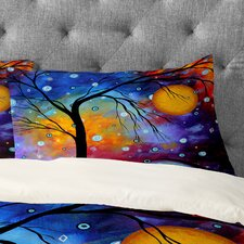 Madart Inc Winter Sparkle Pillowcase