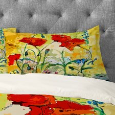 Ginette Fine Art Poppies Provence Pillowcase