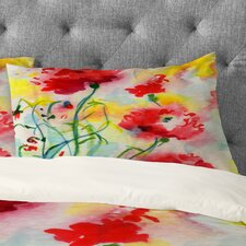 Ginette Fine Art If Poppies Could Only Speak Pillowcase