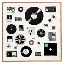 'Data Framed' by Florent Bodart Graphic Art