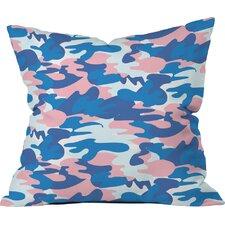Zoe Wodarz Camo Polyester Throw Pillow