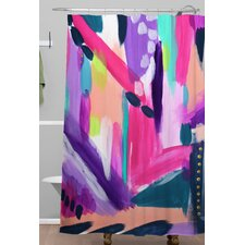 Laura Fedorowicz Tulip Abstract Shower Curtain