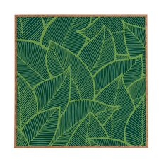 'Leaves' by Arcturus Framed Graphic Art