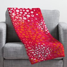 Khristian A Howell Brady Dots 2 Throw Blanket