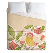 Cori Dantini Little Bird On A Flowery Branch Duvet Cover Collection
