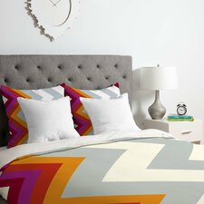 Karen Harris Modernity Solstice Warm Chevron Duvet Set