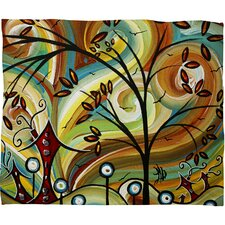 Madart Inc. Fall Colors Throw Blanket