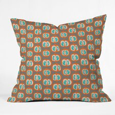 Mummysam Orange Pomegranate Throw Pillow